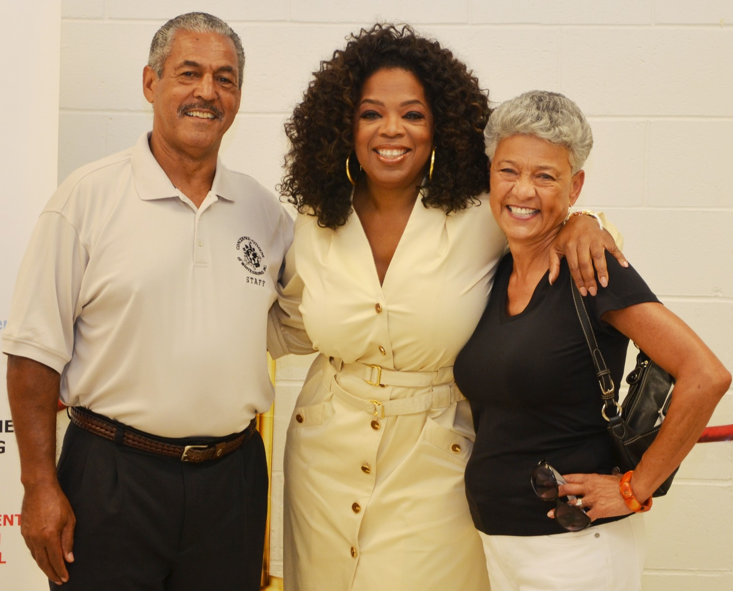 Bernie & Faye Blanks with Oprah