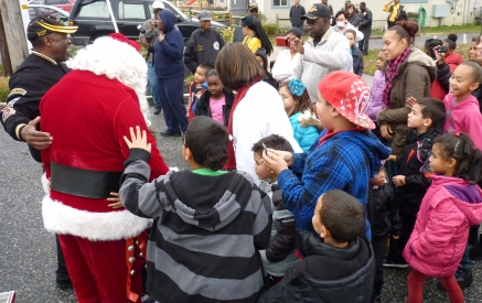 Santa in Whitesboro 2013