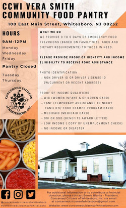 CCWI Vera Smith Food Pantry2