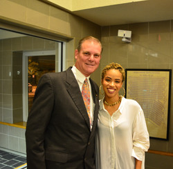 Mayor Michael Clark & Nadjah Nicole