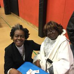 Christina Hatcher & Wanda Shepherd NAACP