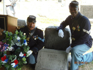 Grave Marker for George Henry White