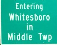 Entering Whitesboro