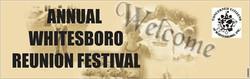 Whitesboro Reunion Banner