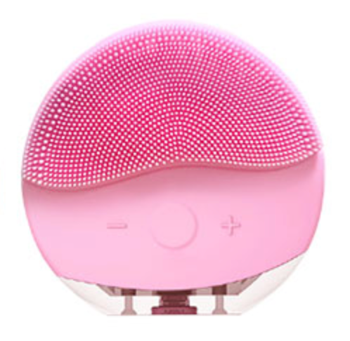 SKN 2-in-1 Cleansing Brush Pink