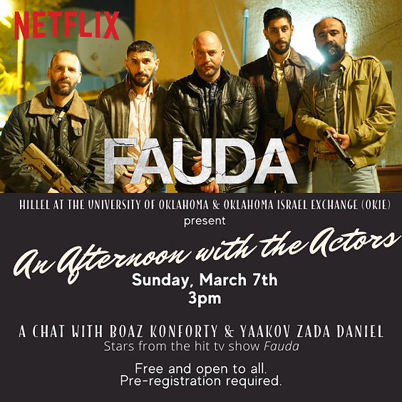 An Afternoon with the Actors of Netflix's Fauda