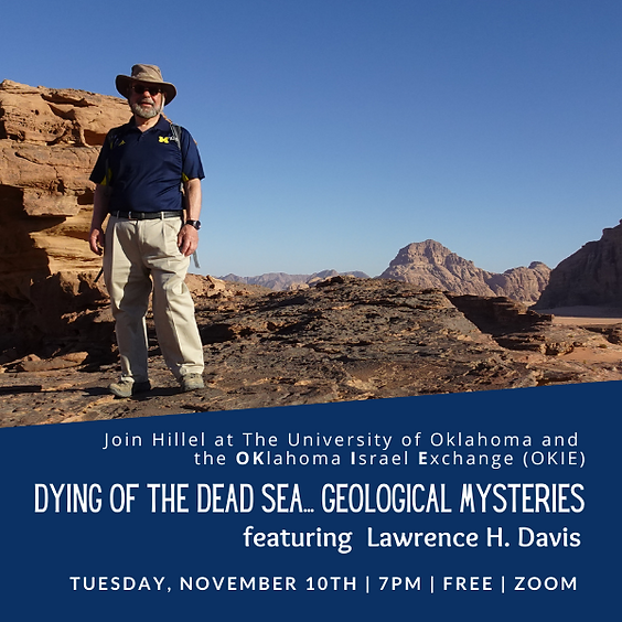 Dying of the Dead Sea... Geological Mysteries