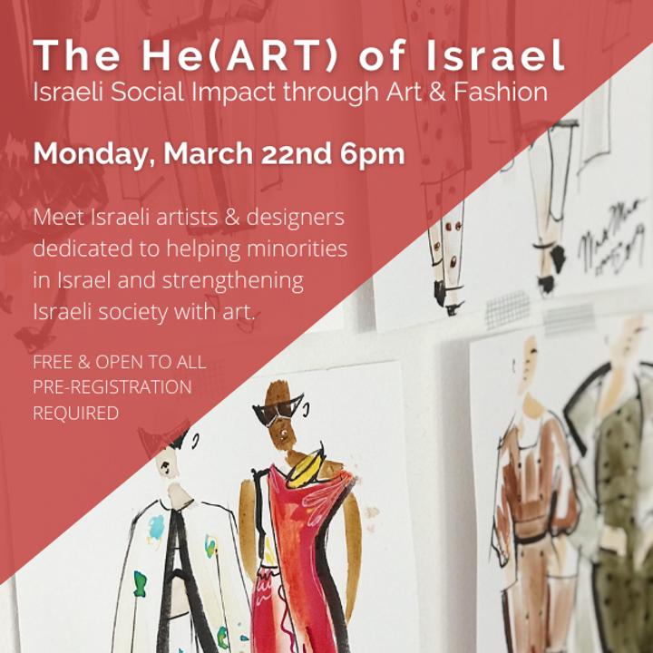 The He(ART) of Israel- Israeli Social Impact through Art and Fashion