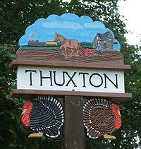 Thuxton Village Sign