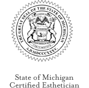 State of Michigan Seal of Certification