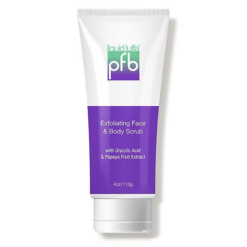 PFB Liquid Luffa™ Scrub: Two Step Skin Lightening System : STEP 1 – Exfoliant