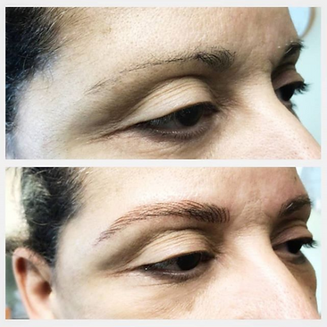 Microbladed Brows - Before & After