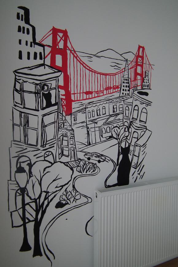 fresque San Fransisco