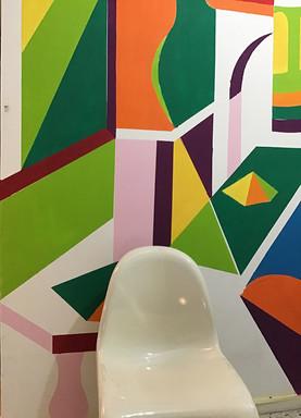 Triptyque mural