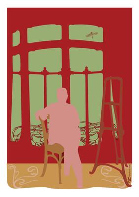 Poster art nouveau Horta