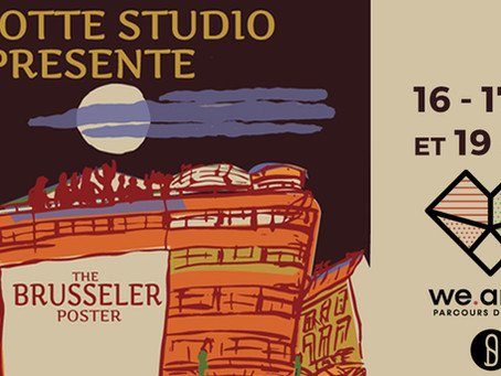 Exposition The Brusseler poster