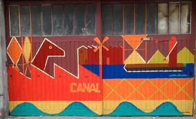 fresque streetart canal