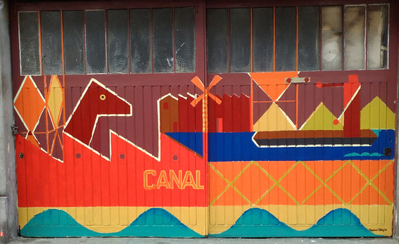 fresque canal