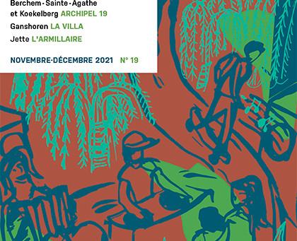 Couverture pour la revue culture Bruxelles Nord-Ouest