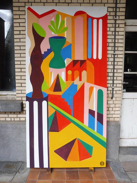 panneau poétique urbaine