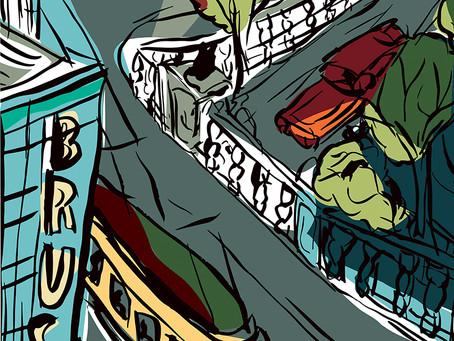 Exposition The Brusseler organisée par la maison de l'image