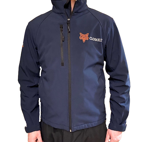 Official Closkelt Mens Embroidered Softshell Jacket