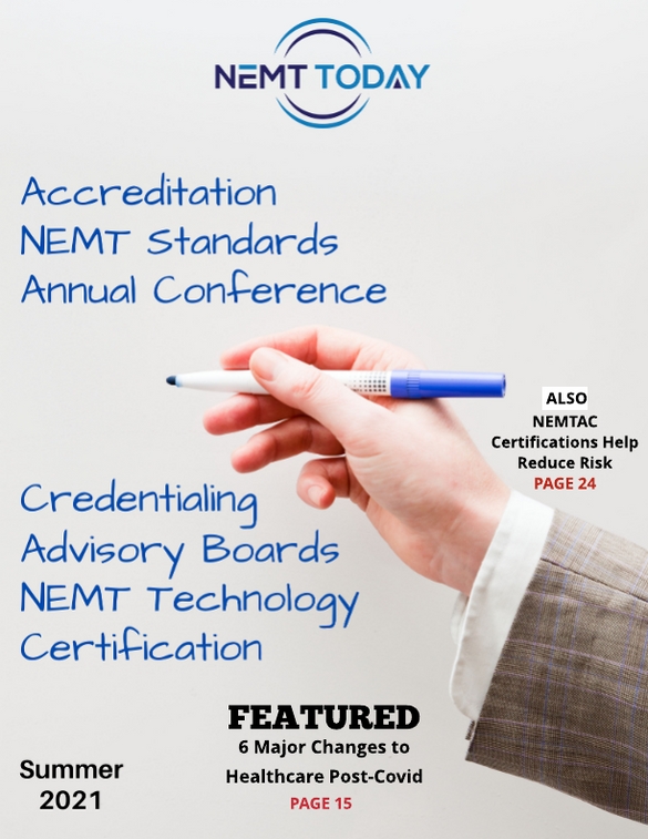 NEMT Today Summer 2021 Now Available!