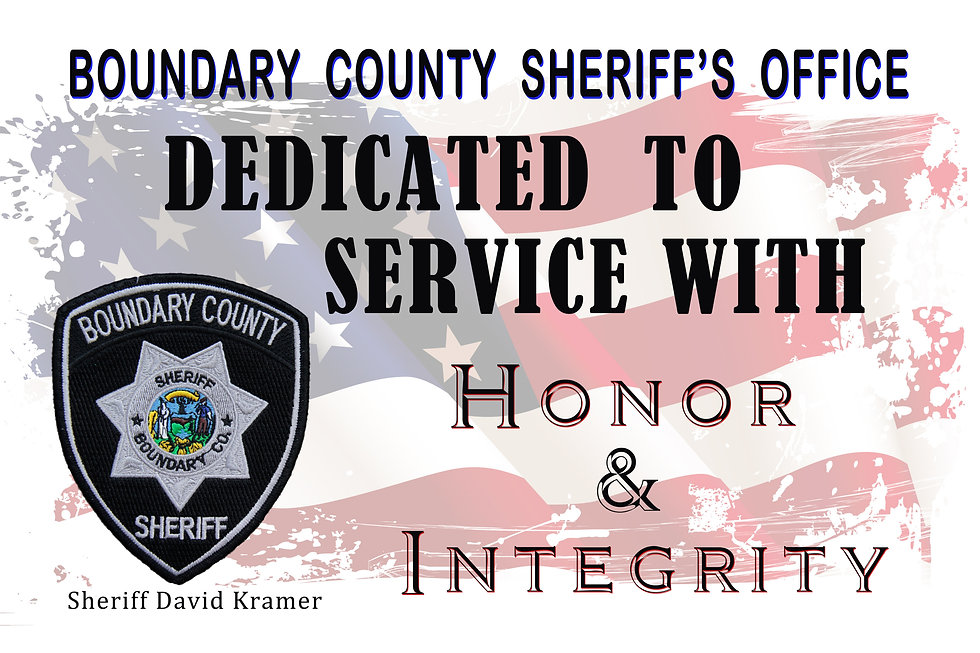 boundary county sheriff office bonners ferry sheriff office bonners ferry idaho boundary county idaho