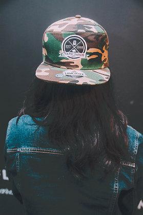 Snapback Militar / Negro