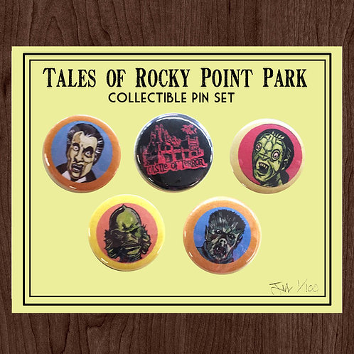 Tales of Rocky Point Collectible Pin Set