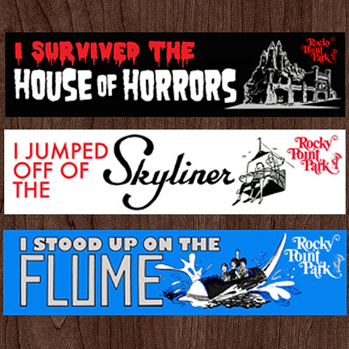 BUMPER STICKER 3-PACK