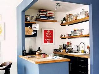 Cómo debe ser la cocina de una minicasa