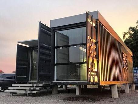 Cargotectura o arquitectura con contenedores marítimos