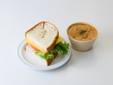 1/2 Sandwich and a Cup of Soup