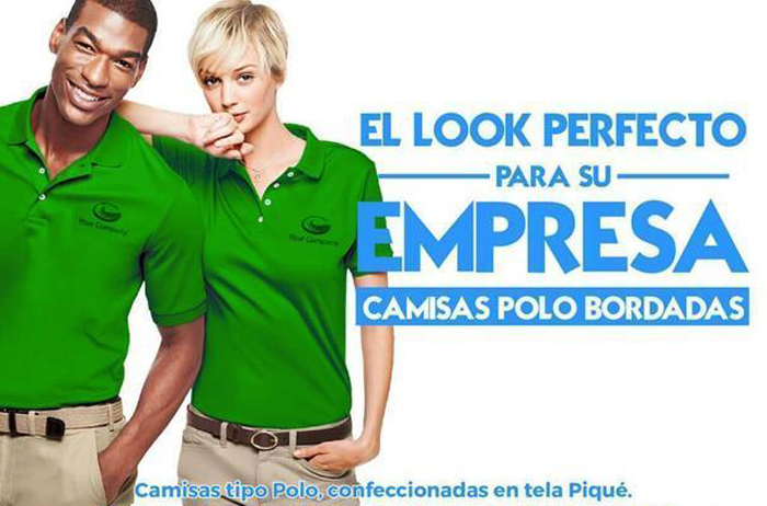 Camisas bordadas tipo polo
