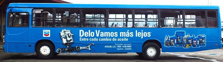 Publicidad buses y rotulaciónes