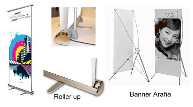 Banner, Lonas, Roller Ups