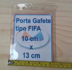 Porta gafete tipo FIFA