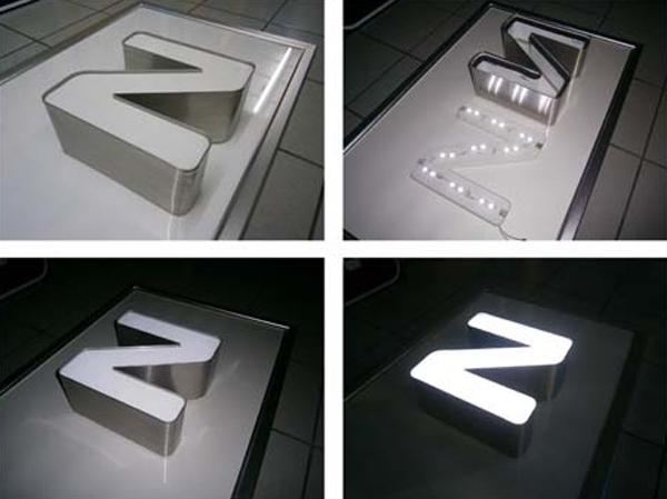 Rótulos en Aluminio