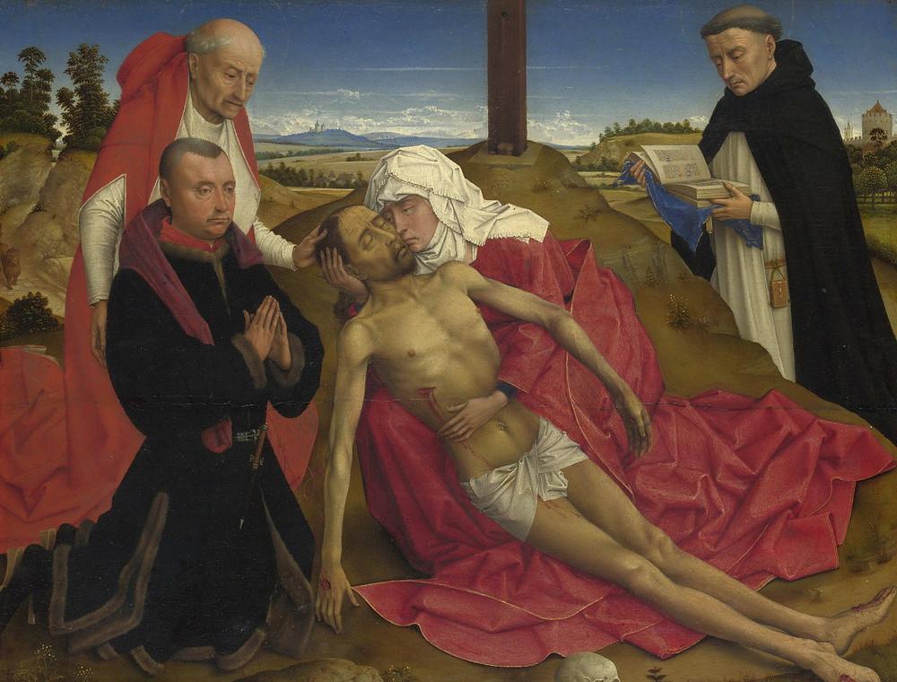 Rogier van der Weyden, Pietà (The National Gallery UK)