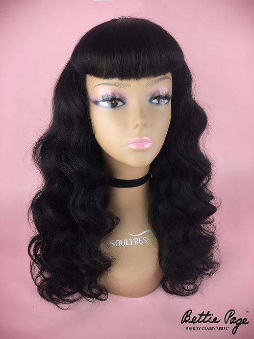 Baddie Bangs™ Wig (Black)