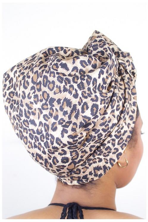 Leopard Head Wrap