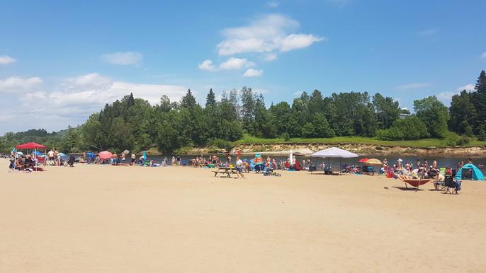 La plage à perte de vue, pour le plaisir de tous !