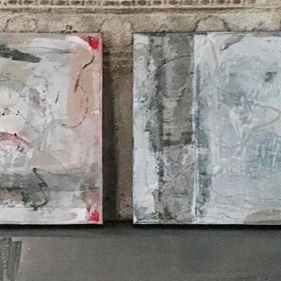 Joyful Series    Mixed Media on Canvas  $195 each