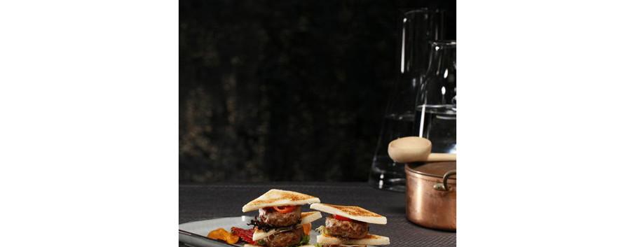Mini vealburger