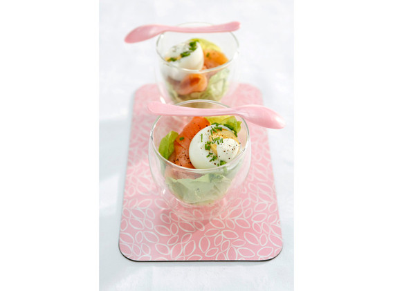 Eggs & salmon (Van keukenmeid tot dinnerdiva)