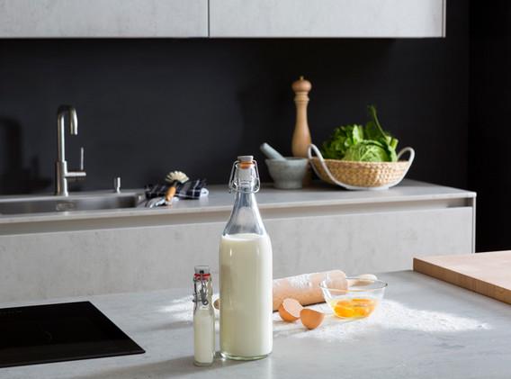 Detail kitchen concrete
