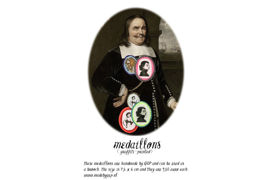 Advertisement Medallion
