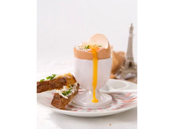 Egg in Paris (Dinnerdiva in the City)