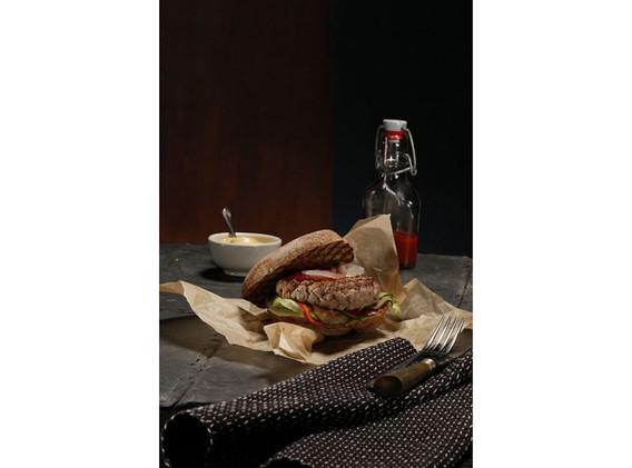 Veal burger
